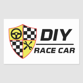 DIY Race Car Sticker