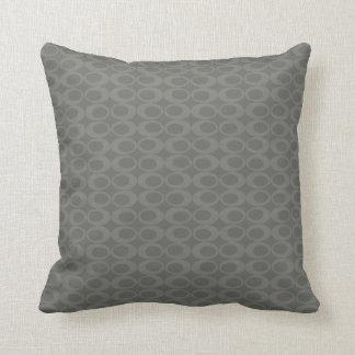 DIY - Retro Print - CUSTOM COLOR - Throw Pillow