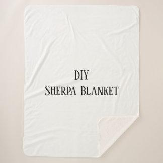 DIY Sherpa Blanket
