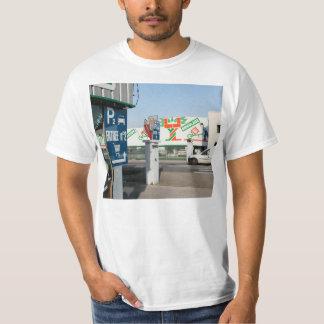 DIY shop, France, Lons le Saunier, with mural T-Shirt