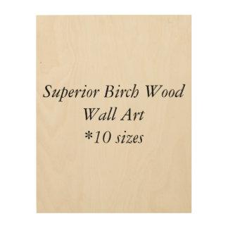DIY Superior Birch Wood Wall Art