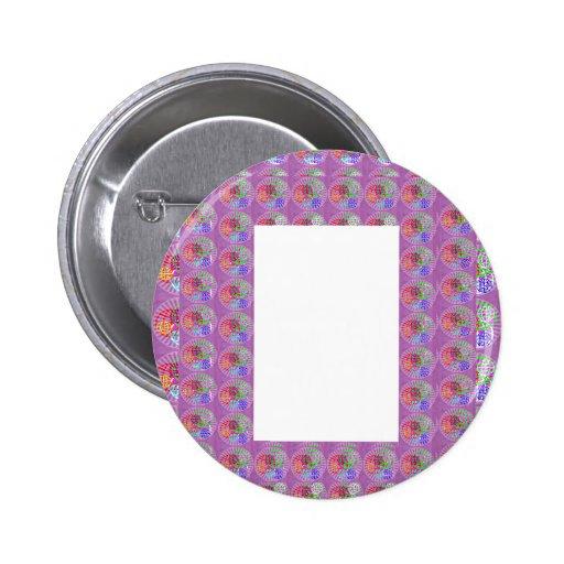 DIY Template Border Buy Blank Add Txt IMG  NVN187 Pinback Buttons