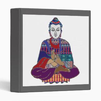 DIY Template change IMAGE buddha buddhism 3 Ring Binder