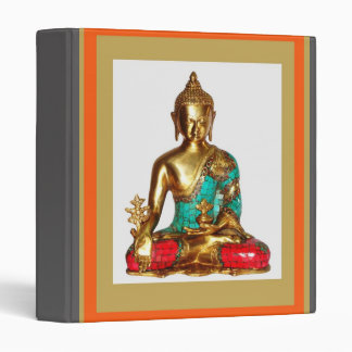 DIY Template change IMAGE buddha buddhism Vinyl Binders