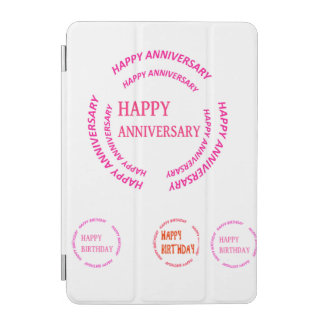 diy TEMPLATE replace add photo text art image iPad Mini Cover