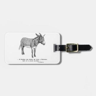 DIY UnicornDonkey ver1 Luggage Tag