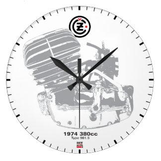 DIY Vintage Moto Clock