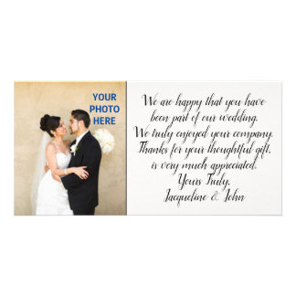 DIY - Wedding Thank You Photo Insert Card