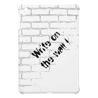 DIY White Brick Wall to write Graffiti iPad Mini Cases