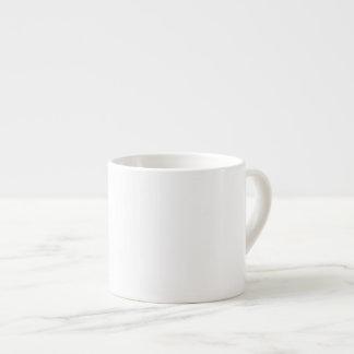DIY White ~ Espresso Mug 6oz