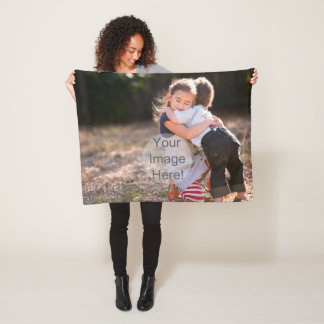 DIY - YOUR IMAGE on a BLANKET - Add pics and text