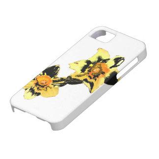 Dizzy Daff Phone Case - Yellow