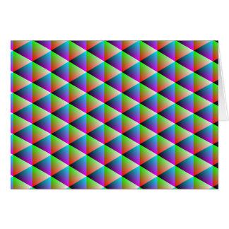 Dizzy diamonds card