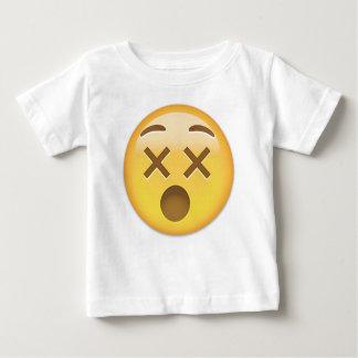 Dizzy Face Emoji Baby T-Shirt