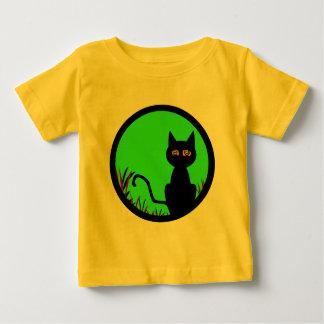 Dizzy Moon Cat Baby T-Shirt