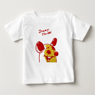 """Dizzy Mouse - """"Flash of Genius """" Baby T-Shirt"""