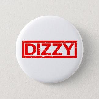 Dizzy Stamp 2 Inch Round Button