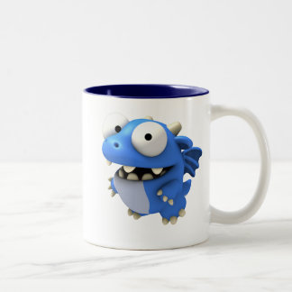 Dizzy Two-Tone Coffee Mug