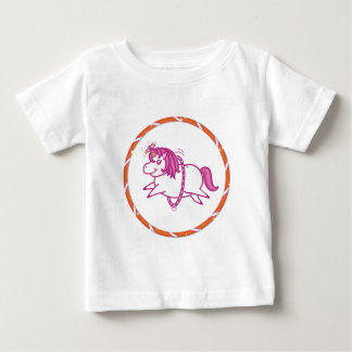 Dizzy Unicorn Logo Baby T-Shirt