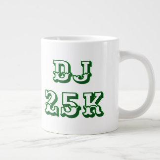 DJ 25K Stock Market Swell Large Coffee Mug