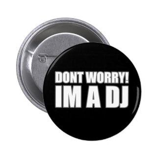 DJ 2 INCH ROUND BUTTON