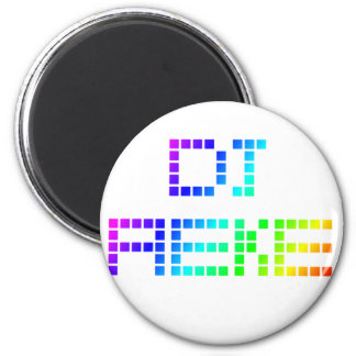 DJ AEke 2 Inch Round Magnet