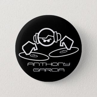 dj, ANTHONY GARCIA 2 Inch Round Button