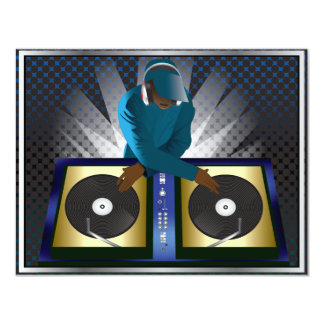 DJ Bachelor Bachelorette Surprise Party Invitation