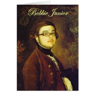 DJ Bobbie Junior Card
