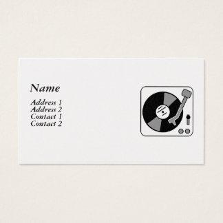 DJ BUSINESS CARD