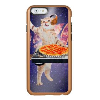 dj cat - cat dj - space cat - cat pizza incipio feather® shine iPhone 6 case
