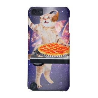 dj cat - cat dj - space cat - cat pizza iPod touch (5th generation) cover