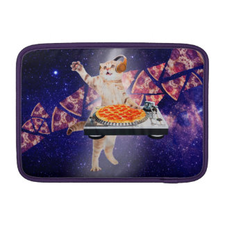 dj cat - cat dj - space cat - cat pizza MacBook air sleeves