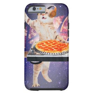 dj cat - cat dj - space cat - cat pizza tough iPhone 6 case