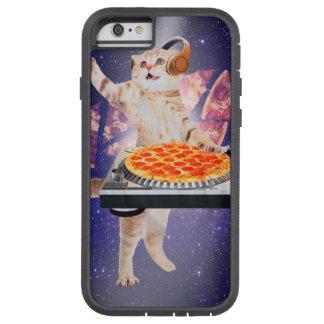 dj cat - cat dj - space cat - cat pizza tough xtreme iPhone 6 case