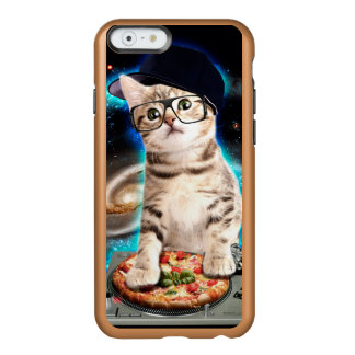 dj cat - space cat - cat pizza - cute cats incipio feather® shine iPhone 6 case