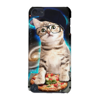 dj cat - space cat - cat pizza - cute cats iPod touch (5th generation) covers