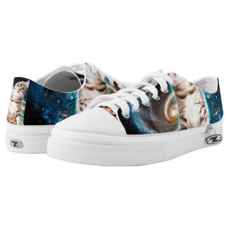 dj cat - space cat - cat pizza - cute cats Low-Top sneakers
