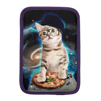 dj cat - space cat - cat pizza - cute cats sleeve for iPad mini