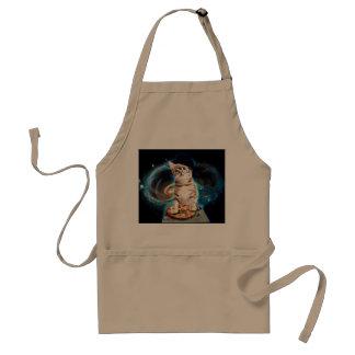 dj cat - space cat - cat pizza - cute cats standard apron