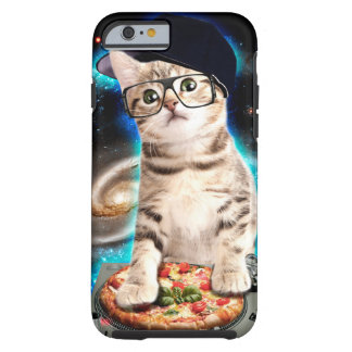dj cat - space cat - cat pizza - cute cats tough iPhone 6 case