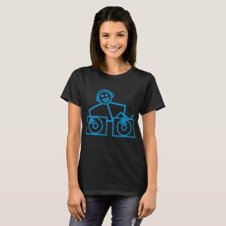 Dj Club Dance Rave Music House Cool Funny Retro Ho T-Shirt