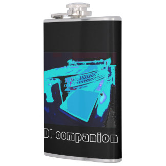 DJ companion flask by Champagne Horizon
