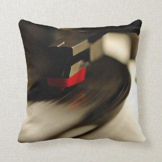 Dj console throw pillow