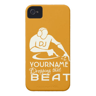 DJ custom Blackberry case