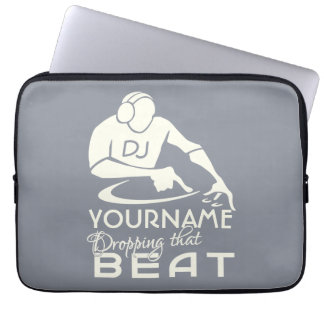 DJ custom laptop sleeve