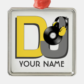 DJ custom ornament