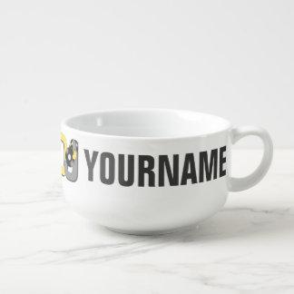 DJ custom soup mug