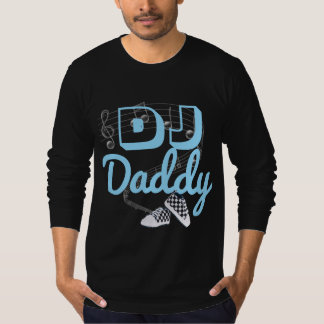 DJ Daddy Hip Hop Baby Shower Shirt