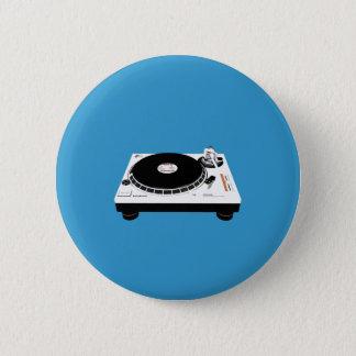 DJ Decks 2 Inch Round Button